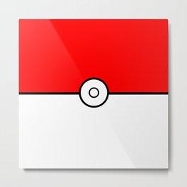 PokéBall - Pokémon Metal Print