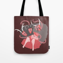 Demons #A06 Tote Bag