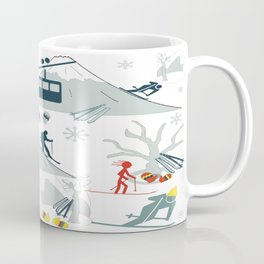 SKI LIFTS Coffee Mug