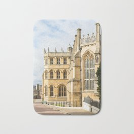 Sunshine on St. George's Chapel at Windsor Castle Bath Mat