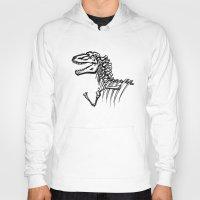 t rex Hoodies featuring T-Rex by ALT Illustration