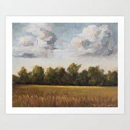 sun-kissed & breezy Art Print