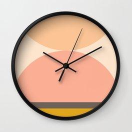 Abstraction_Mountains_Balance_ART_Landscape_Minimalism_001 Wall Clock