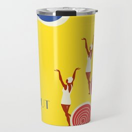 "EX-JU poster ""AEROPUT"" Travel Mug"