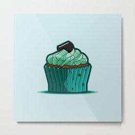 Cupcake 10 Metal Print