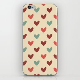 Christmas love candy iPhone Skin
