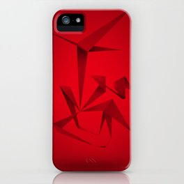 RED ANGLE iPhone Case