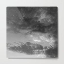 'Clouds 3' Metal Print