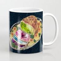 gem Mugs featuring Gem Roast by Eugenia Loli
