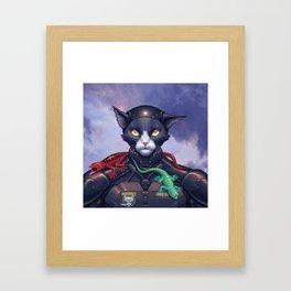 Colonel Moritz Framed Art Print