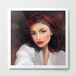 Kylie Jenner Metal Print