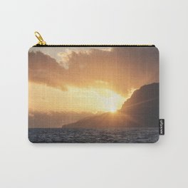 Sunset at Madeira island Carry-All Pouch