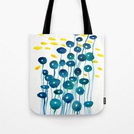 The Mermaid's Wineglasses Tote Bag