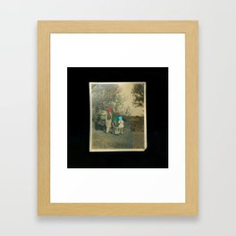 Scan Me Framed Art Print