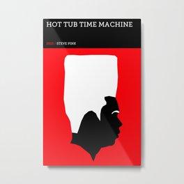 Hot Tub Time Machine Metal Print