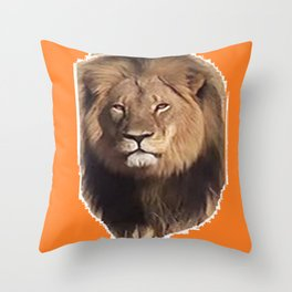 Cecil the Great Throw Pillow