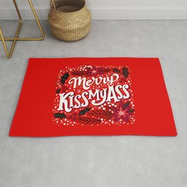 Merry Kissmyass Rug