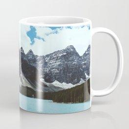 Lake Moraine landscape Coffee Mug