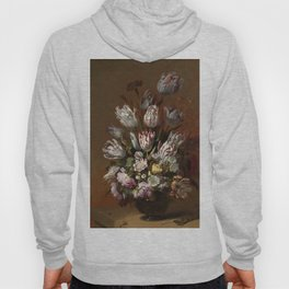 Still life with flowers - Hans Bollongier (1639) Hoody