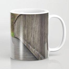 Country park wooden bridge Coffee Mug