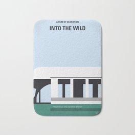 No677 My Into the Wild minimal movie poster Bath Mat