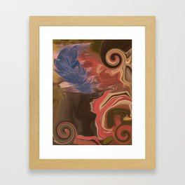 When Angels Are Near Framed Art Print