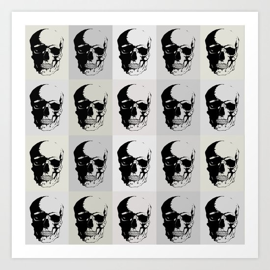 Fifty Shades of Death Art Print