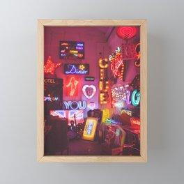 God's own junkyard Framed Mini Art Print