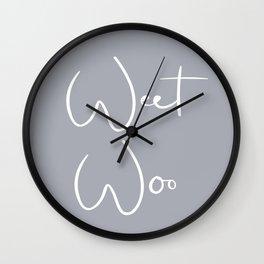 Weet Woo Wall Clock