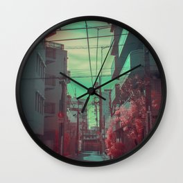 Infrapink 04 Wall Clock