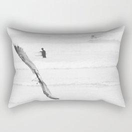 catch a wave VI Rectangular Pillow