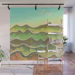Magic Flight over the Sea of Clouds Wall Mural
