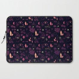 Witchcraft Pattern - Sunset Laptop Sleeve
