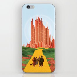 For A Better Future, Live In A Red State iPhone Skin
