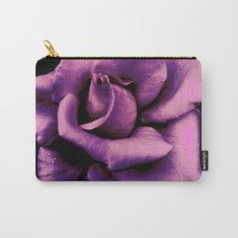 Lavendar Rose Carry-All Pouch