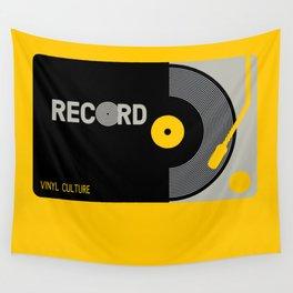 Vinyl Cul Wall Tapestry