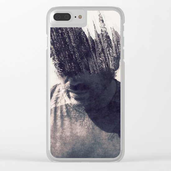 With Nature in Mind Clear iPhone Case