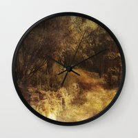 destiny Wall Clocks featuring Destiny by Dorothy Pinder