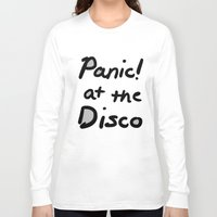 panic at the disco Long Sleeve T-shirts featuring Panic! At The Disco by Stephanie Janeczek