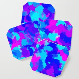 Colorful Modern Abstract Coaster
