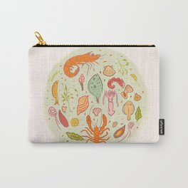 Na beira do mar Carry-All Pouch