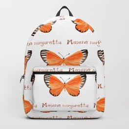 Butterfly - Mesene margaretta Backpack