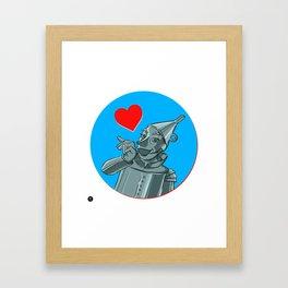 Oil can! Framed Art Print