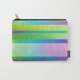 Gradient Stripes Carry-All Pouch