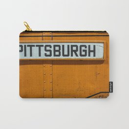 Pittsburgh Sign Of Trolleys Carry-All Pouch