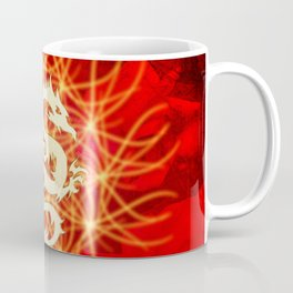Wonderful golden dragon Coffee Mug
