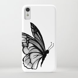 Ink butterfly iPhone Case