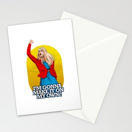 I'm gonna make it on my own! Stationery Cards