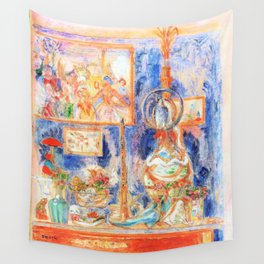 A good place at home - James Sidney Edouard Baron Ensor Wall Tapestry