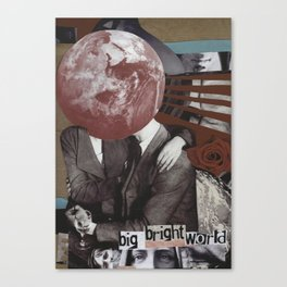 Big Bright World Canvas Print